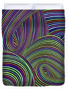 Pop Swirls Duvet Cover