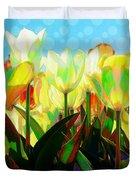 Popart Tulips Duvet Cover