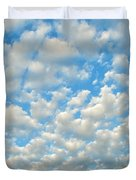 Popcorn Clouds Duvet Cover