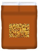 Popcorn Seeds Duvet Cover