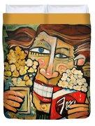 Popcorn Duvet Cover