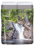 Poplar Stream Falls Duvet Cover