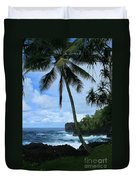 Poponi Ulaino Mokupupu Maui North Shore Hawaii Duvet Cover