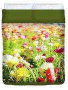 Poppies 1 Duvet Cover