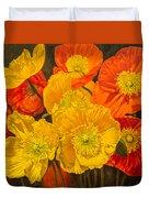 Iceland Poppies 2 Duvet Cover