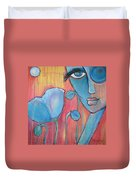Poppies 7 Luna Let Me Go Duvet Cover
