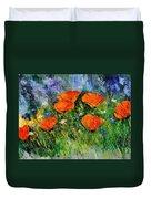 Poppies 79 Duvet Cover