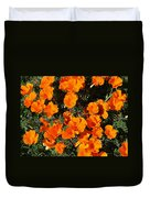 Poppies Alive Duvet Cover