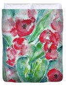 Poppies Celebration Duvet Cover