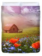 Poppies In A Dream Duvet Cover