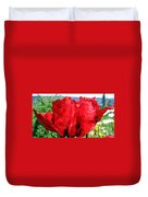Poppies Plus Duvet Cover