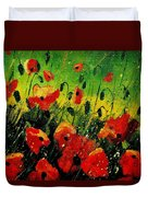 Poppies Poppies  Duvet Cover