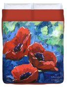 Poppies Splender Duvet Cover