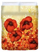 Poppin Poppies #2 Duvet Cover