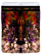 Popping Flowers Duvet Cover