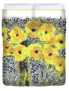 Poppy Bouquet I Pf Duvet Cover