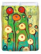 Poppy Celebration Duvet Cover by Jennifer Lommers