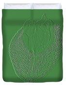 Poppy Embossing  Duvet Cover
