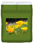 Poppy Flower Meadow 11 Poppies Art Prints Canvas Framed Duvet Cover