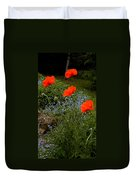 Poppy Foursome Duvet Cover