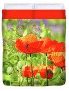Poppy Garden Duvet Cover