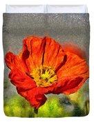 Poppy - Id 16235-142749-5072 Duvet Cover