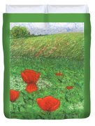 Poppy In Country Duvet Cover