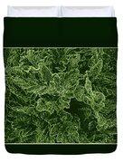 Poppy Leaves Duvet Cover