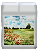 Poppy Meadow Duvet Cover