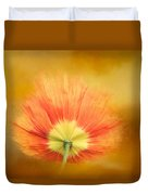 Poppy On Fire Duvet Cover