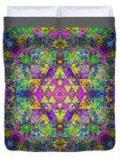 Poppy Opal Yantra Duvet Cover