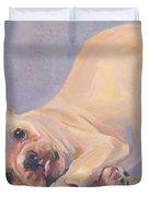 Poppy Puppy Duvet Cover