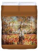 Poppy Scarecrow Duvet Cover