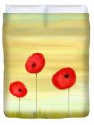 Poppy Sunset Duvet Cover