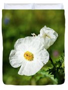 Poppy Wildflower Duvet Cover