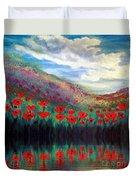 Poppy Wonderland Duvet Cover