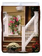 Porch - Garwood Nj - Suburban Paradise Duvet Cover