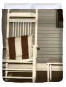 Porch Rocker Duvet Cover