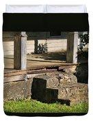 Porch Stoop Duvet Cover