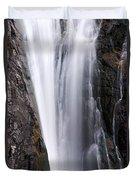 Porcupine Falls Closeup Duvet Cover