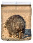 Porcupine Walking Duvet Cover