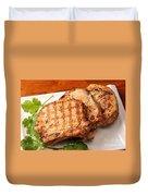 Pork Chop. Duvet Cover