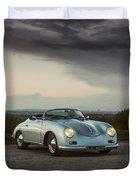 Porsche 356 Speedster Duvet Cover