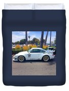 Porsche 911 Gt2 Duvet Cover