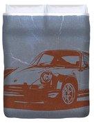 Porsche 911 Duvet Cover