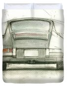 Porsche 911 Rs Duvet Cover