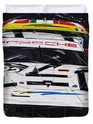 Porsche 911 Rsr Le Mans Duvet Cover