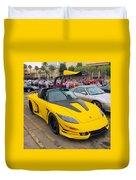 Porsche 911 Targa Gullwing Duvet Cover