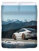Porsche 911r Duvet Cover