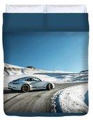 Porsche 911r Powerslide Duvet Cover
